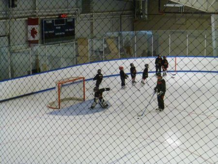 Sports containment netting